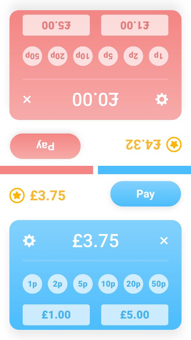 Money Math Duel – Split Screen