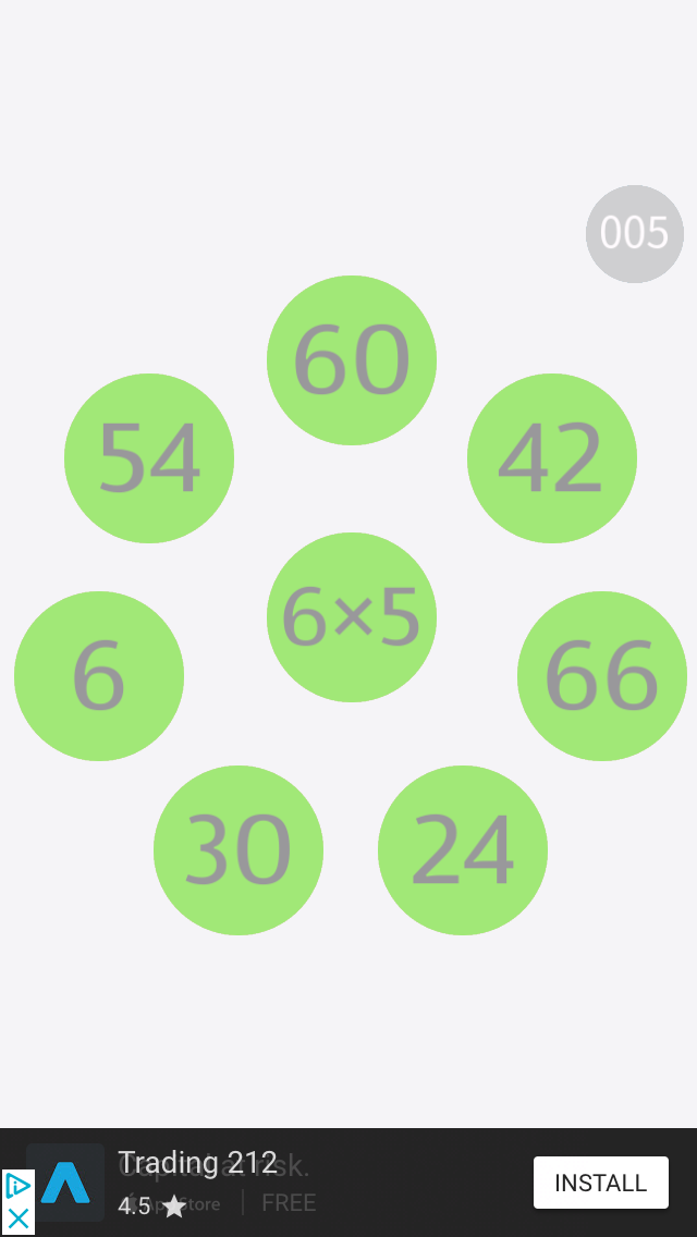 Maths Loops: Times Tables