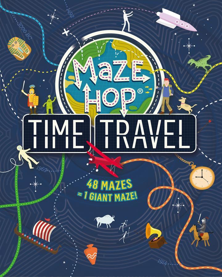 Maze Hop Time Travel