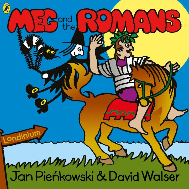 Meg and the Romans by Jan Pienkowski