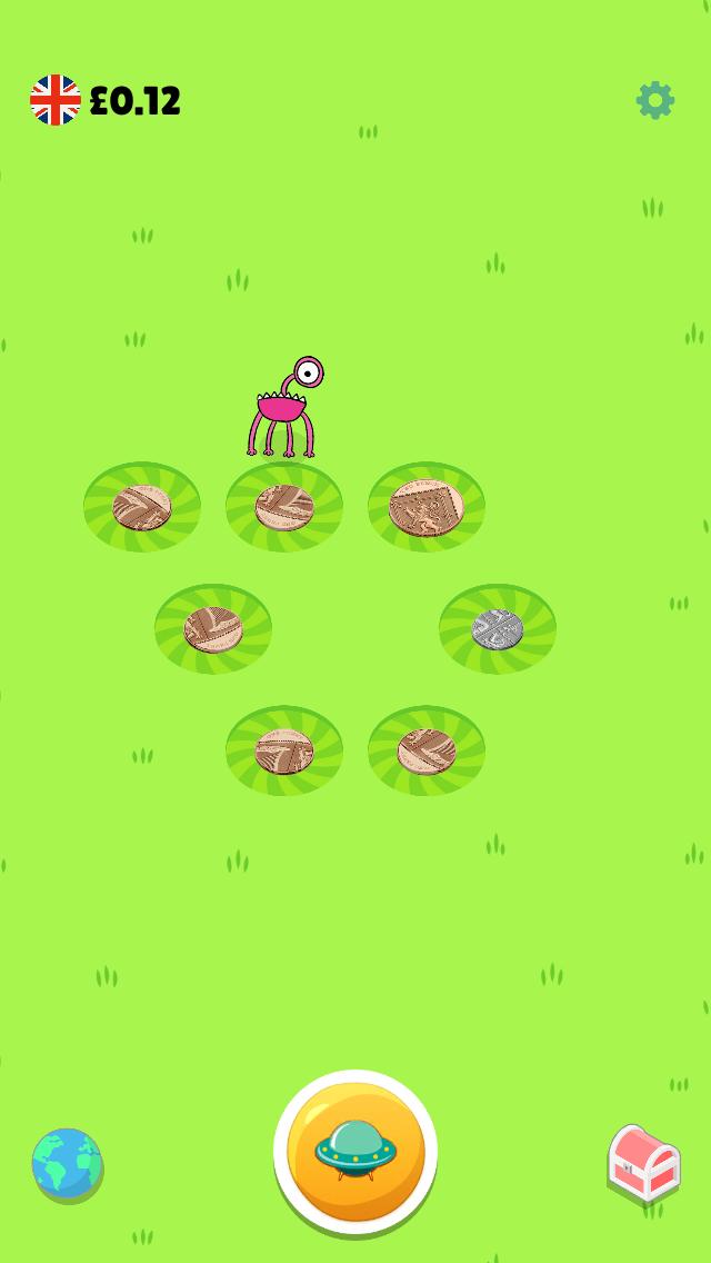 Money Aliens app