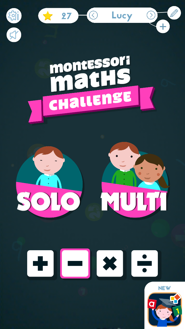 Montessori Math Challenge