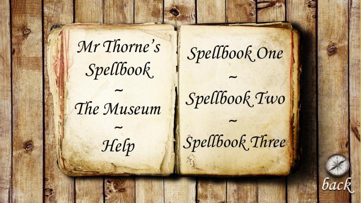 Mr Thorne's Spellbook app