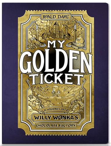My Golden Ticket Wonderbly