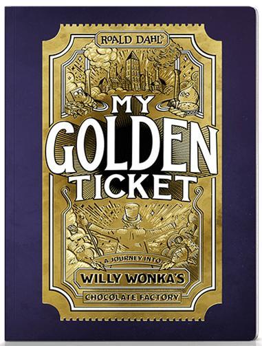 My Golden Ticket Wonderbly