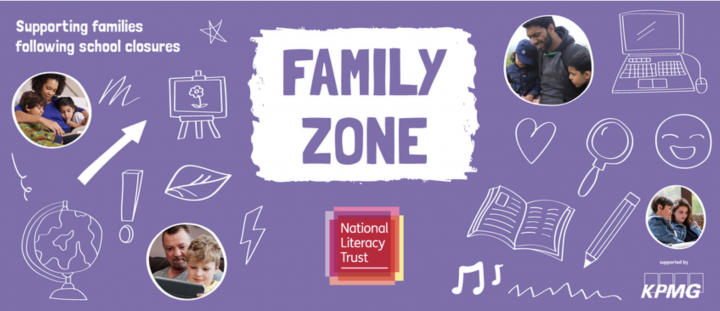 National Literacy Trust Family Zone