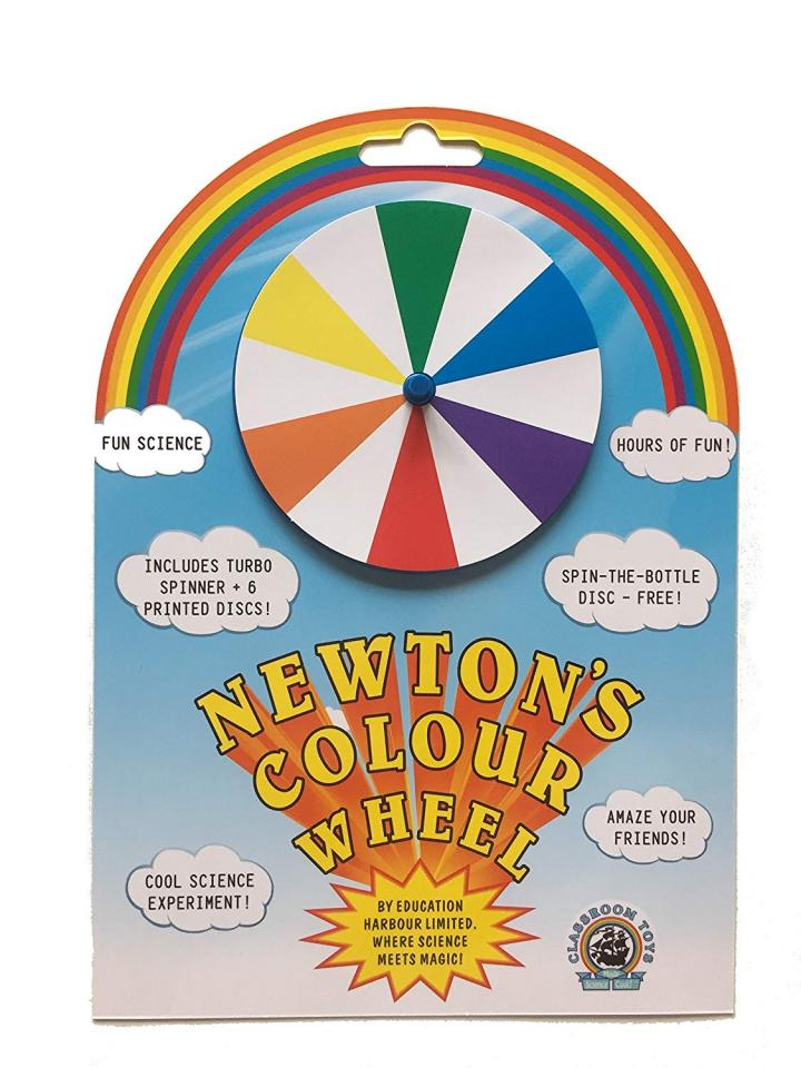 Newton's Colour Wheel by Education Harbour Limited