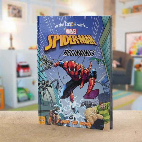 Personalised Marvel Spider-Man Story Book