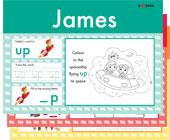 Personalised phonics word pads