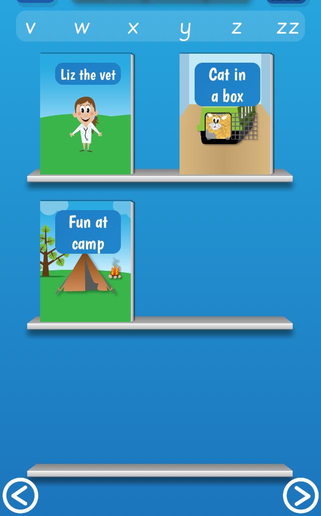 PocketPhonics Stories app