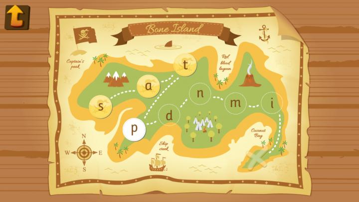 Pirate Phonics app