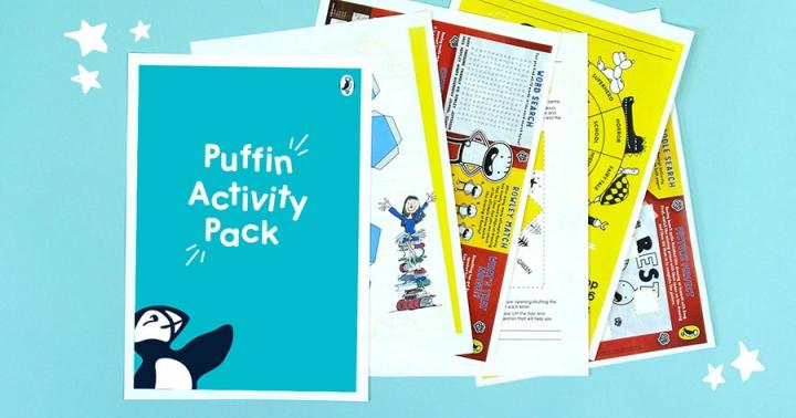 Puffin downloadable activity pack
