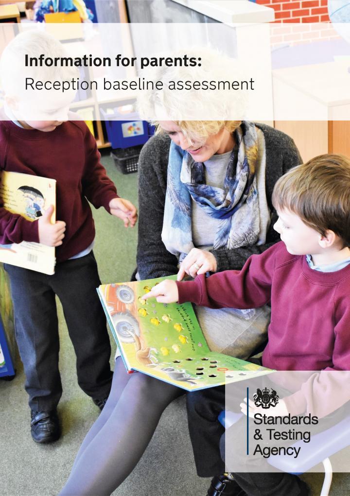 Reception Baseline Assessment parent leaflet