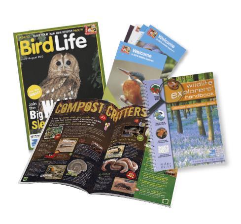 RSPB's Wildlife Explorers Club