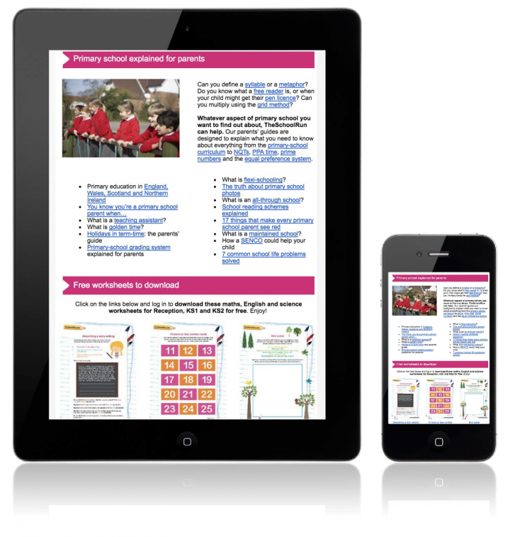 Free worksheets from TheSchoolRun sent direct to your inbox