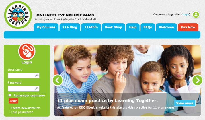 Online 11+ courses from Learning Together