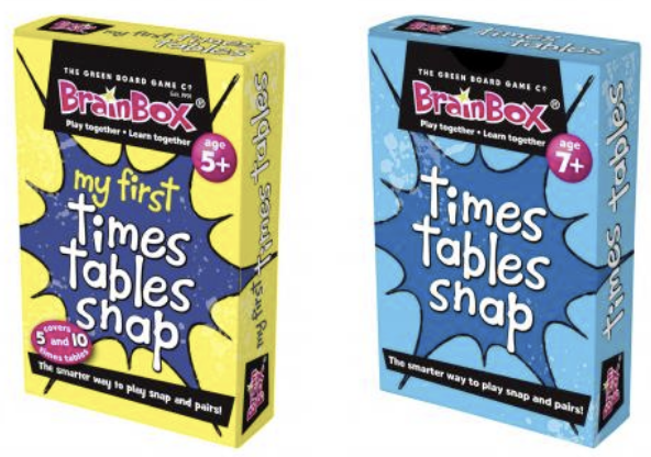My First Times Tables Snap and Times Tables Snap
