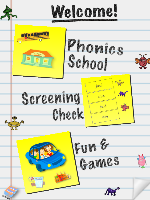 Phonics Screening Check app
