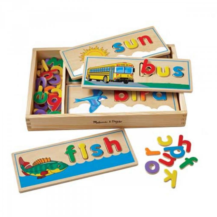 See and Spell Puzzle, Melissa & Doug