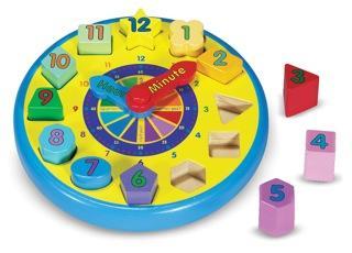 Shape Sorting Clock, Melissa & Doug