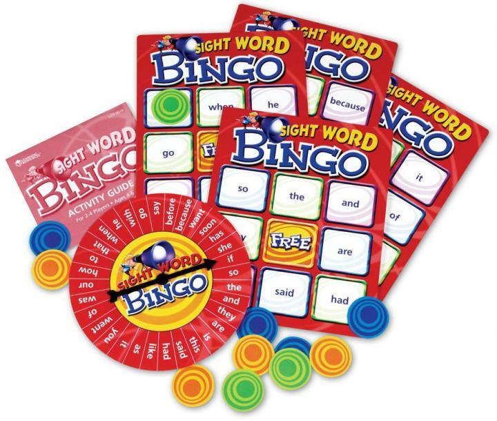 Beginner Sight Word Bingo