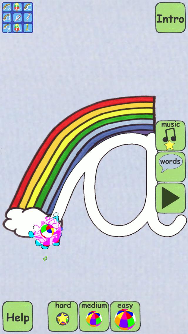 Singalong Cursive Handwriting app