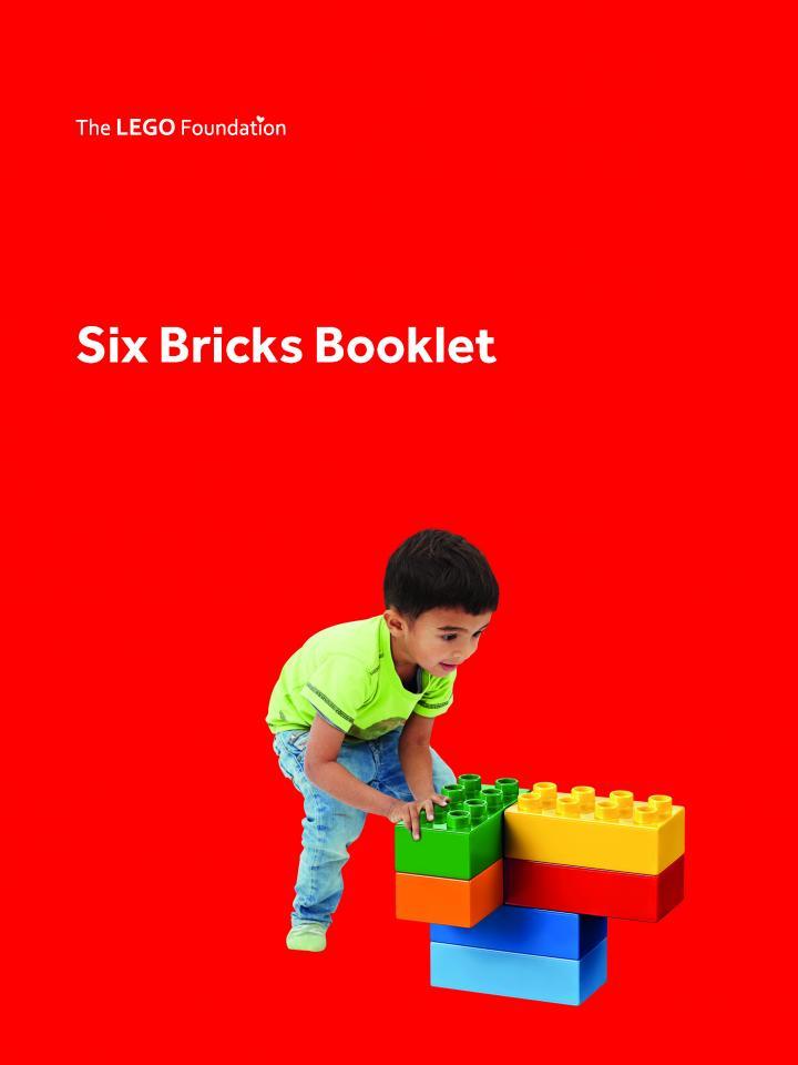 Six Bricks LEGO activity ideas