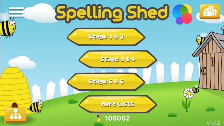 Spelling Shed app