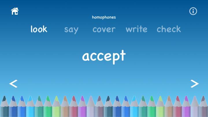 Spelling Whizz app