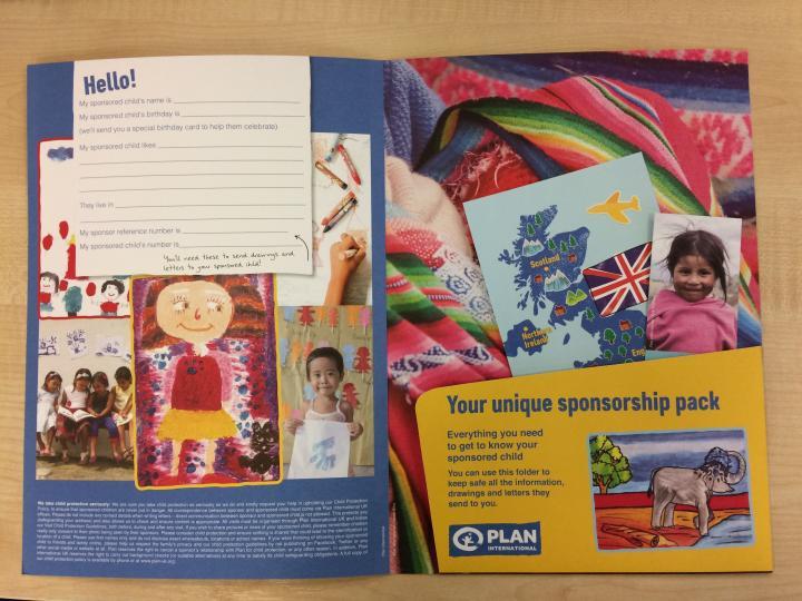 Plan International UK Sponsorship Pack