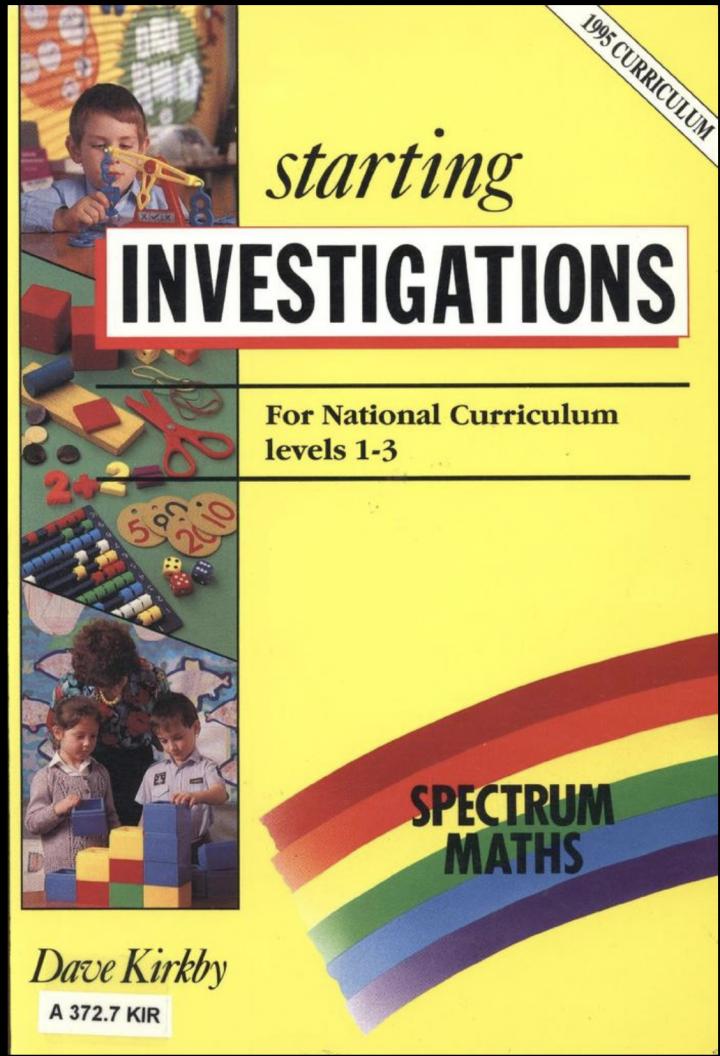 STEM Learning: Starting Investigations
