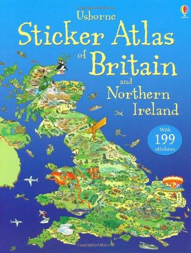 Sticker Atlas of Britain and Northern Ireland