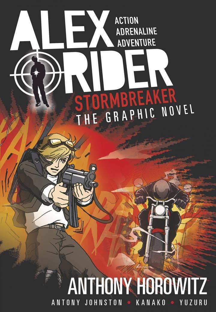 Stormbreaker Graphic Novel by Anthony Horowitz, Antony Johnston, Kanako & Yuzuru Yuzuru