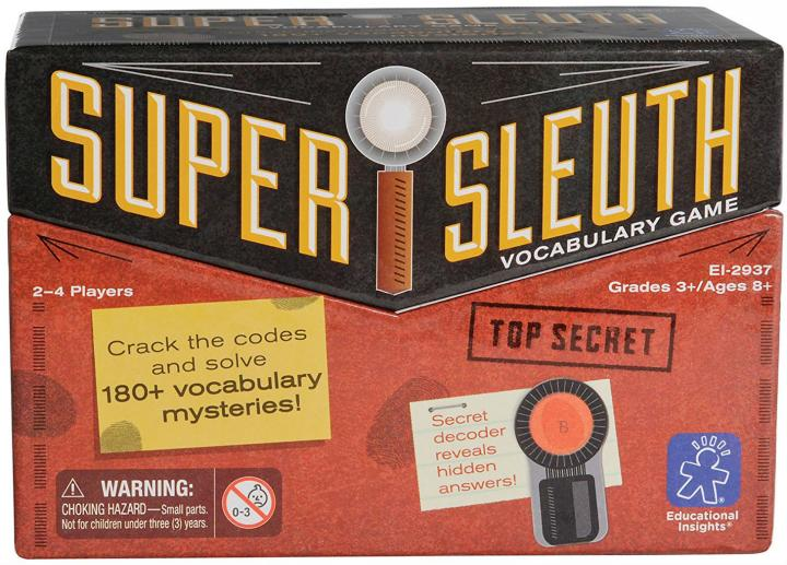 Learning Resources Super Sleuth Vocabulary Game