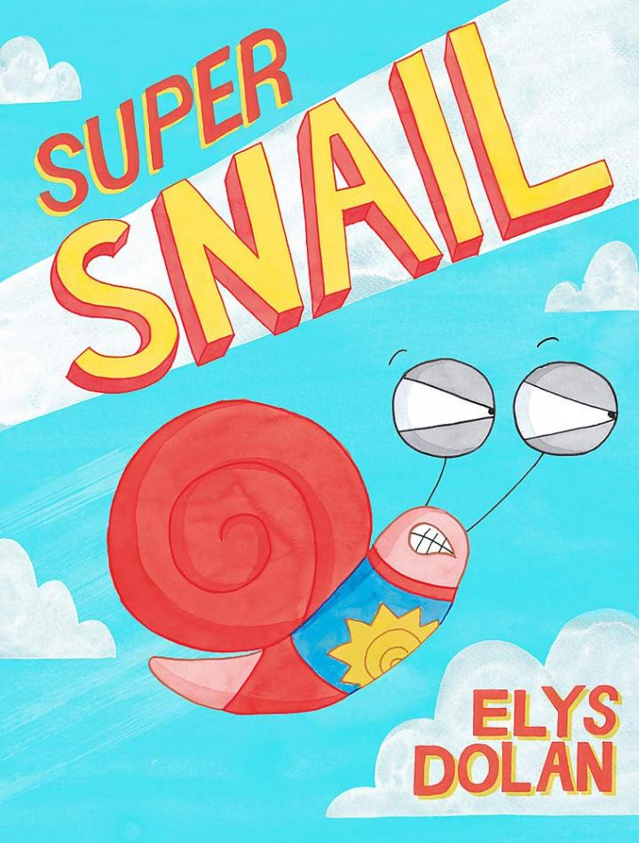 Super Snail by Elys Dolan