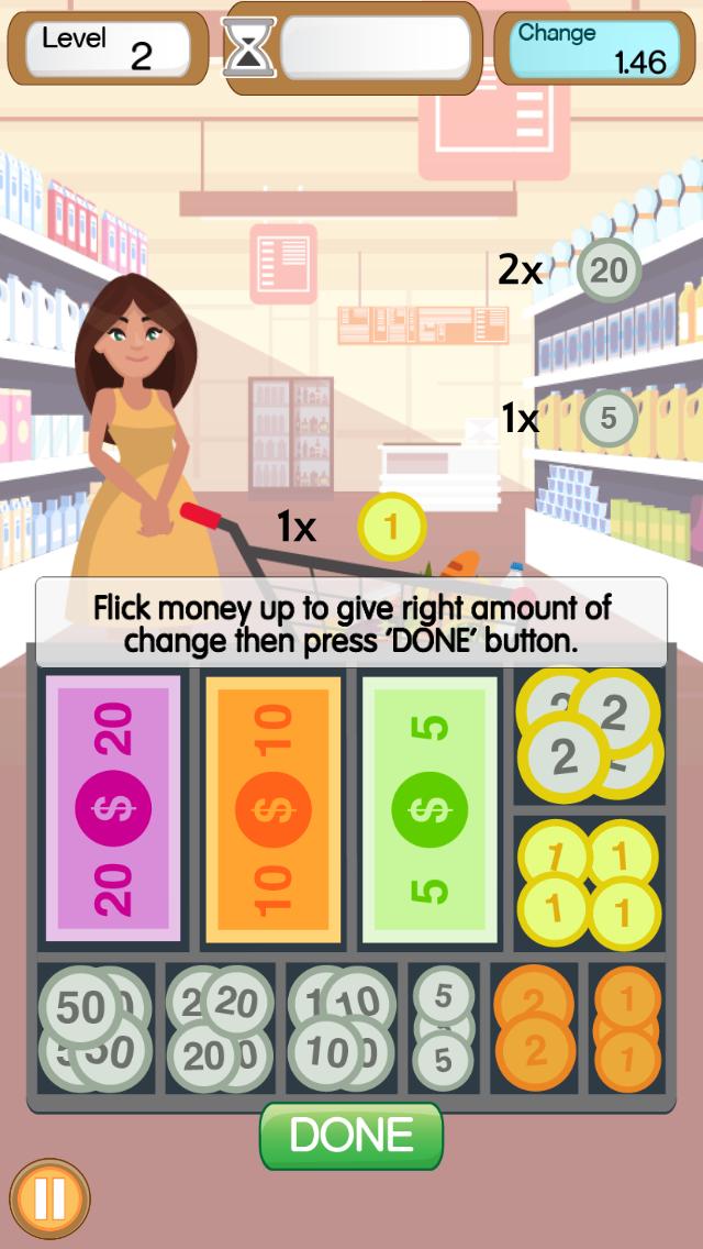 Supermarket Cashier Simulator app
