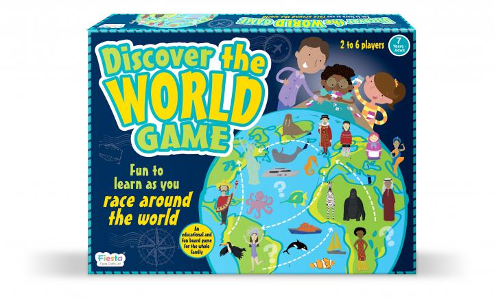 Discover the World Game Fiesta Crafts