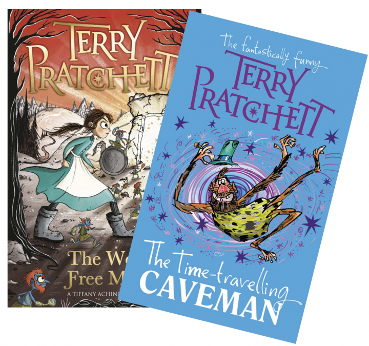The Wee Free Men and The Time-travelling Caveman by Terry Pratchett