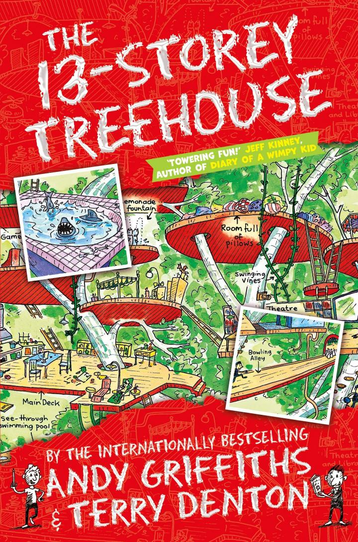 The 13-Storey Treehouse by Andy Griffiths & Terry Denton