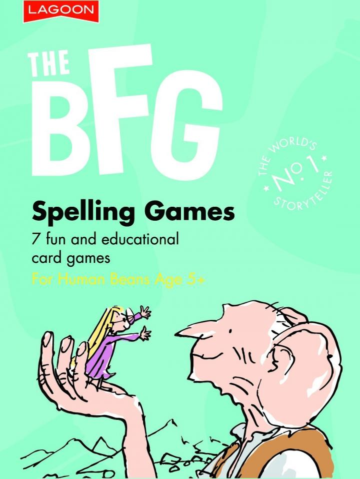 Roald Dahl The BFG Spelling Games