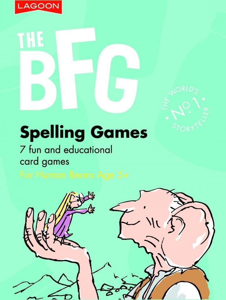 Roald Dahl The BFG Spelling Games