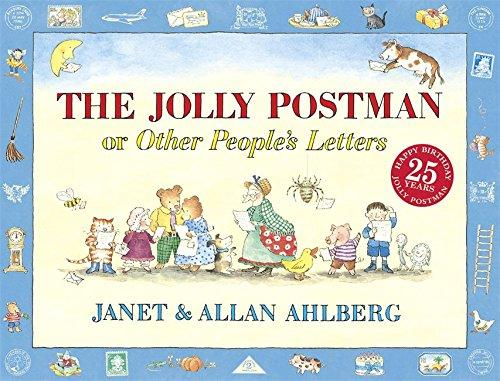 The Jolly Postman by Allan Ahlberg & Janet Ahlberg