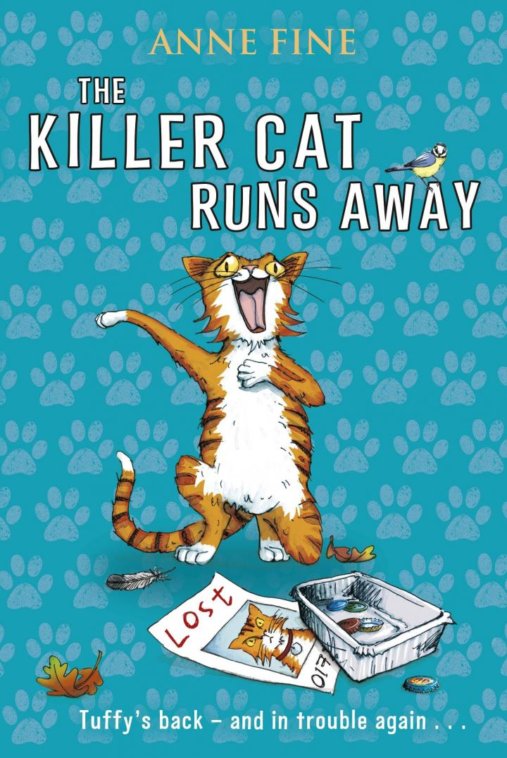 The Killer Cat Runs Away by Anne Fine