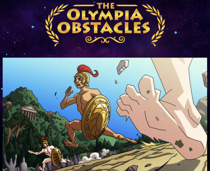 """Guardians of History, """"The Olympia Obstacles"""""""