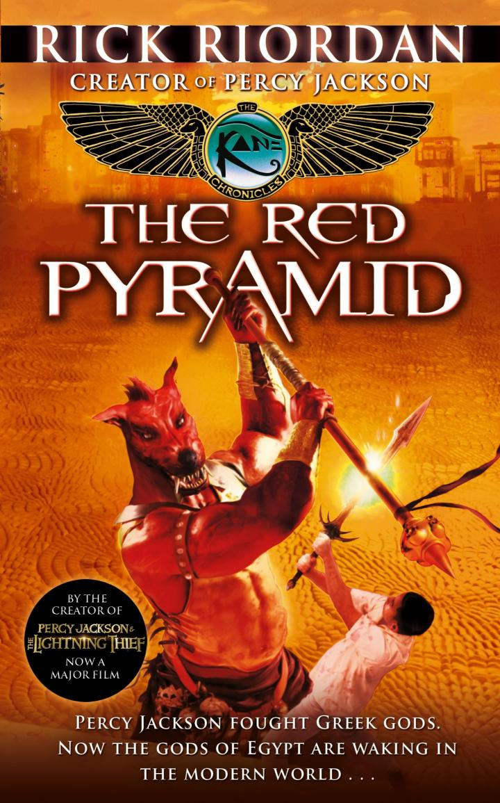 The Kane Chronicles: The Red Pyramid by Rick Riordan