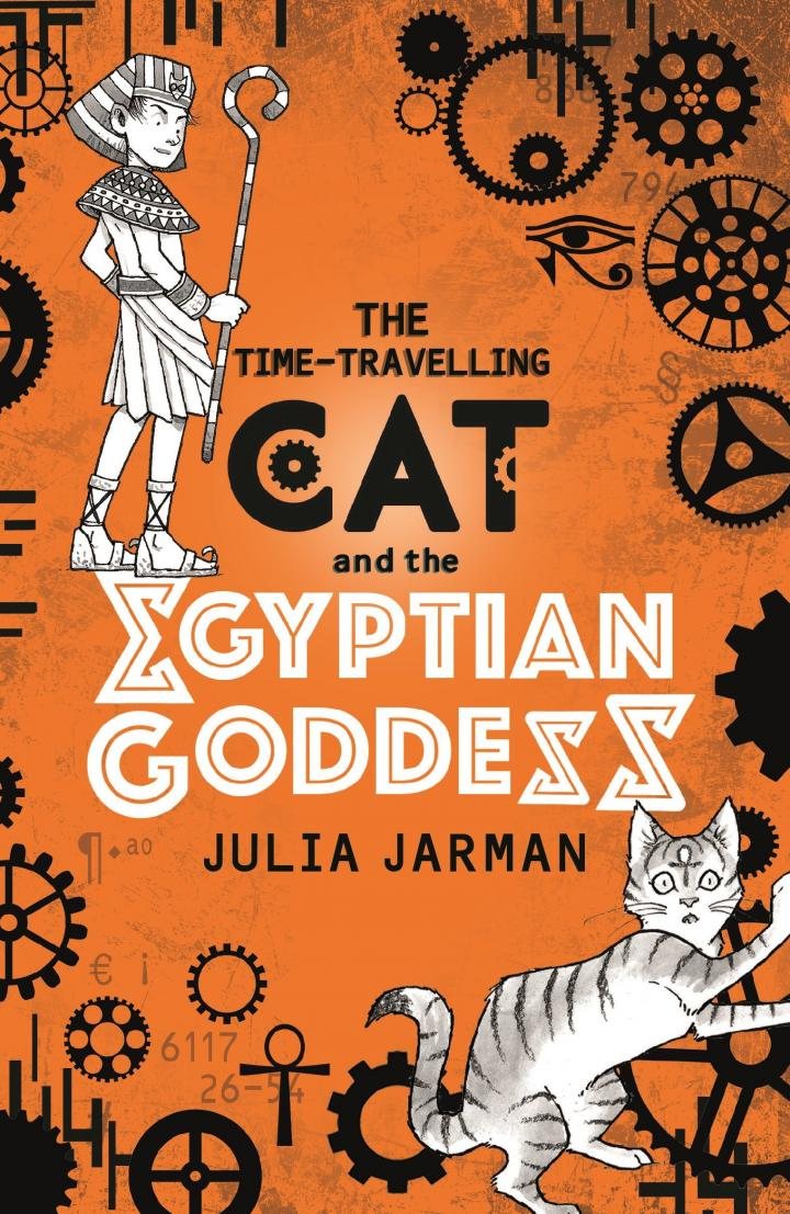 The Time Travelling Cat And The Egyptian Goddess by Julia Jarman