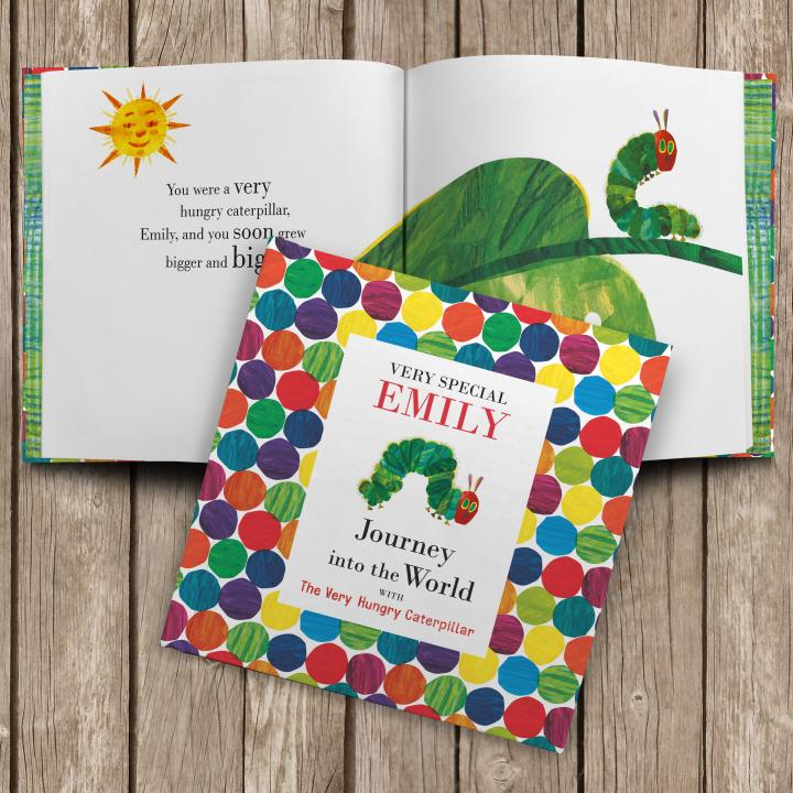 Personalised Journey With The Very Hungry Caterpillar Book