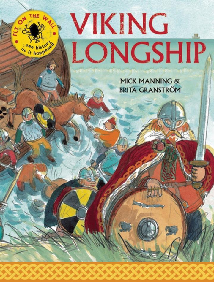 Viking Longship by Mick Manning