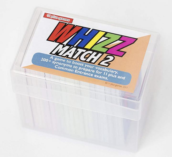 WhizzMatch 11+ practice flashcards