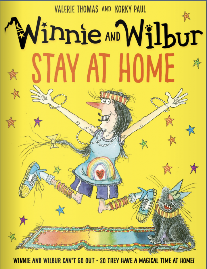 Winnie and Wilbur Stay at Home by Valerie Thomas and Korky Paul
